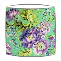 Amy Butler Bliss Bouquet fabric lampshade in Purple