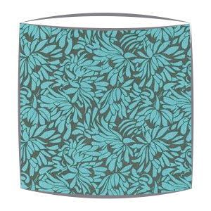 Amy Butler Daisy Bouquet Fabric Lamphshade in Forest