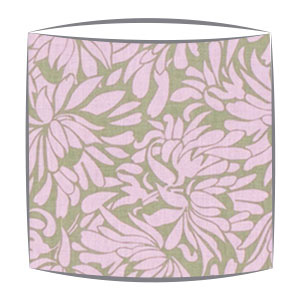 Amy Butler Daisy Bouquet Fabric Lamphshade in PInk