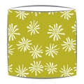 Bon Maison Poppy Lampshade in green fabric (2)