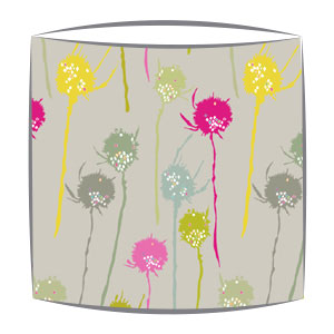 Bon Maison Teasels fabric Lampshade in multi