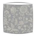 Cabbages and Roses French Toile lampshade in blue