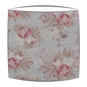 Cabbages and Roses Tulips and Roses fabric lampshade