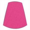 Candle Clip Lampshade for Candelabra or Wall Lights in Hot Pink