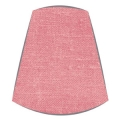Candle Clip Lampshade for candelabra or wall light in Coral Linen
