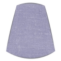 Candle Clip Lampshade for candelabra or wall light in Lilac linen