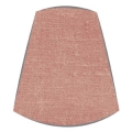 Candle Clip Lampshade for candelabra or wall light in dusky pink linen
