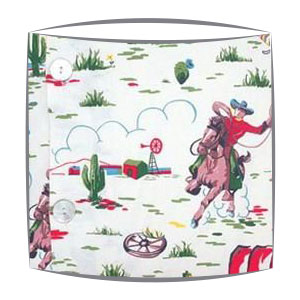 Cath Kidstom Cowboy fabric lampshade