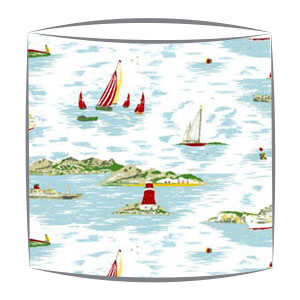 Cath Kidston Boat fabric lampshade