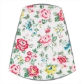 Cath Kidston Fabric Candle Clip On Lampshade in Rainbow Rose