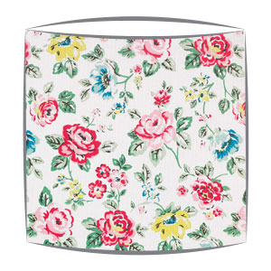 Cath Kidston Rainbow Rose fabric lampshade