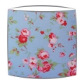 Cath Kidston lampshade in Rosali blue fabric