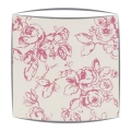Clarke and Clarke Delphine lampshade in raspberry