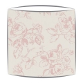 Clarke and Clarke Delphine lampshade in rose