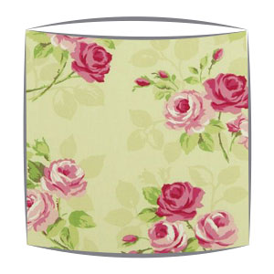Clarke and Clarke Nancy lampshade in apple