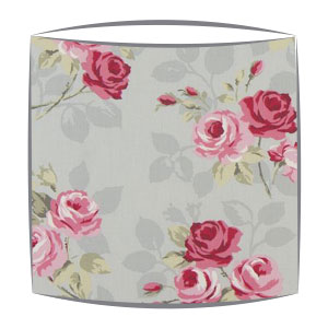 Clarke and Clarke Nancy lampshade in grey