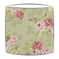 Clarke and Clarke Nancy lampshade in sage