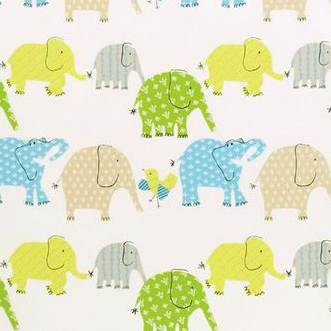 Designers Guild 'Elephant & Castle Fabric Ocean