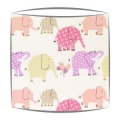 Designers Guild Elephant and Castle Fabric Lampshade in Pink