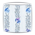 Designers Guild Pansy Stripe fabric lampshade in Cobalt