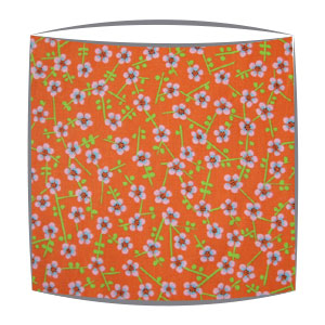 Designers Guild Primrose Hill fabric lampshade in Persimmon