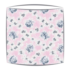 Designers Guild Wild Rose fabric lampshade in Peony