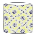 Designers Guild Wild Rose fabric lampshade in Primrose