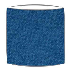 Harris Tweed fabric lampshade in blue
