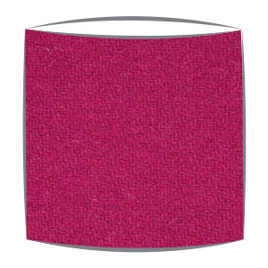 Harris Tweed fabric lampshade in pink