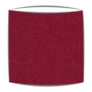 Harris Tweed lampshade in orange and purple herringbone