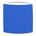 Lampshade in royal blue fabric (2)