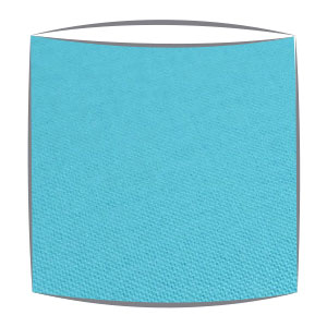 Lampshade in turquoise fabric (2)