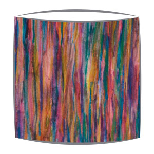 Liberty Art Tana Lawn fabric lampshade in pink and mauve