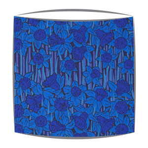 Liberty Hubert A Tana Lawn fabric Lampshade in blue