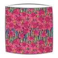 Liberty Hubert A Tana Lawn fabric Lampshade in pink