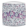 Liberty Hubert A Tana Lawn fabric Lampshade in white