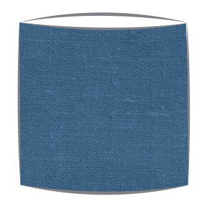 Linen Lampshade in Lagoon Blue
