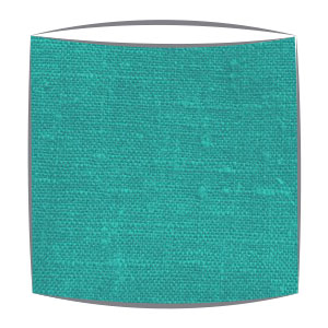 Linen Lampshade in Turquoise