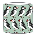 Puffin Fabric Lampshade