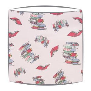 Roald Dahl Bunk Doodling Books fabric lampshade