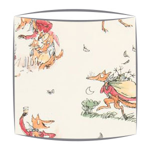 Roald Dahl Fantastic Mr Fox fabric Lampshade