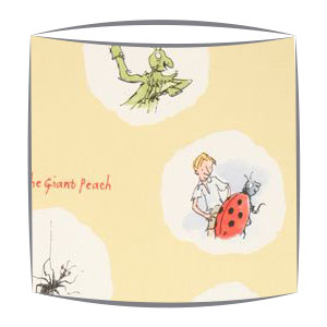 Roald Dahl James and Friends fabric Lampshade