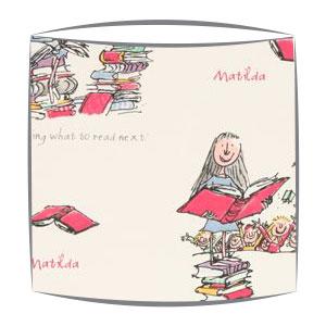 Roald Dahl Matilda fabric Lampshade
