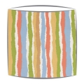 Roald Dahl Midgy Stripe Multi fabric Lampshade