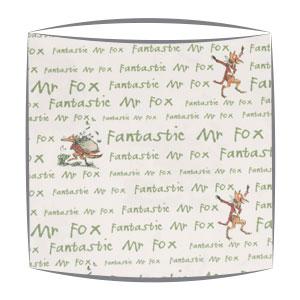 Roald Dahl Squibbling fabric Lampshade