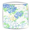 Sanderson Cottage Garden fabric lampshade in sky and periwinkle