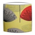Sanderson Dandelion Clocks fabric lampshade in yellow