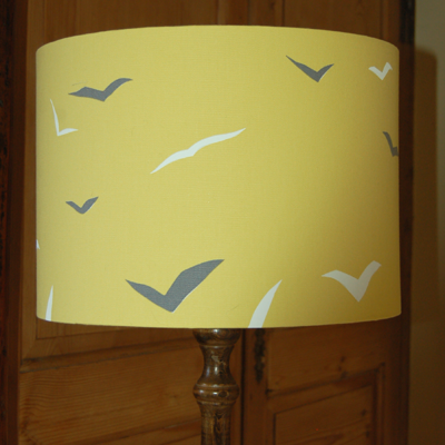 Scion Melinki Flight fabric lampshade