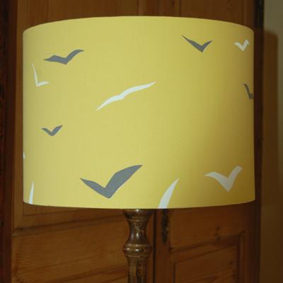Scion Melinki Flight fabric lampshade