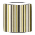 Scion Strata Fabric Lampshade in Charcoal